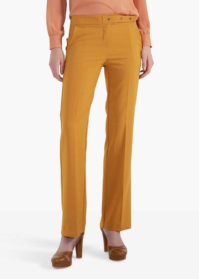 Pantaloni Plius in tessuto tecnico con tasche a uomo