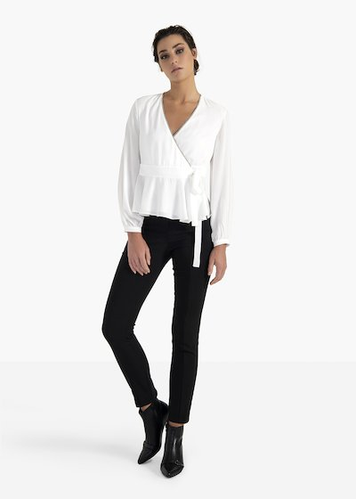 Leg skinny trousers Pael in technical fabric