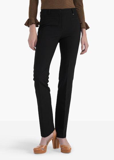 Pantaloni Miranda con doppio filetto sul davanti e sul retro