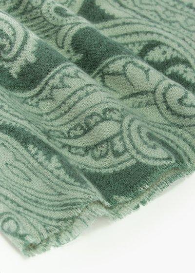 Sciarpa bicolor Sammy in cachemire print