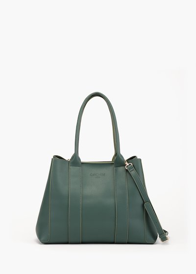 Barly shopping bag in unlined eco leathe