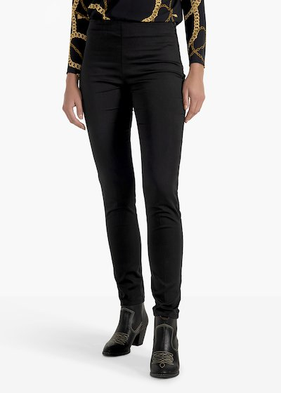 Pantaloni Claudia con zip pressofusa
