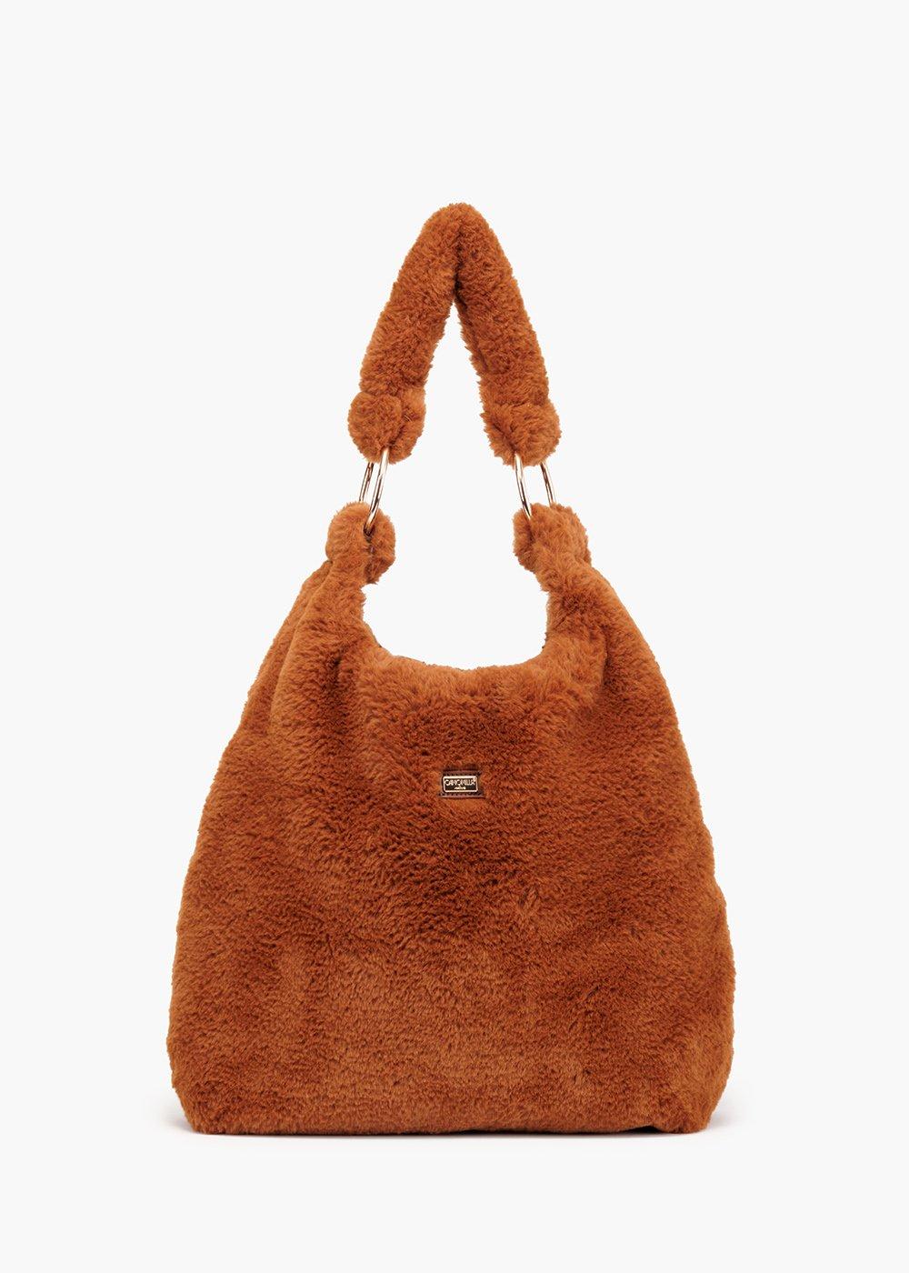 Shopping bag Bright in eco-fur - Sughero - Woman