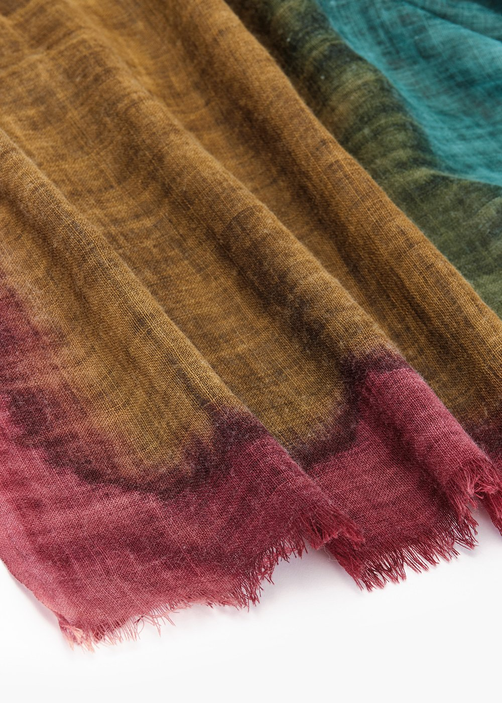 Scarf Still in multicolor wool - Magnolia Fantasia - Woman