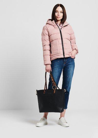 Shopping Bag manico animalier