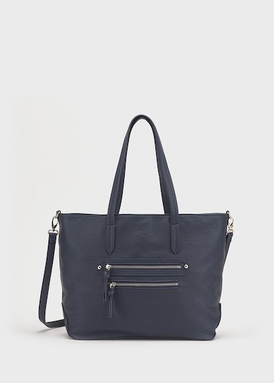 Bicker faux-leather bag