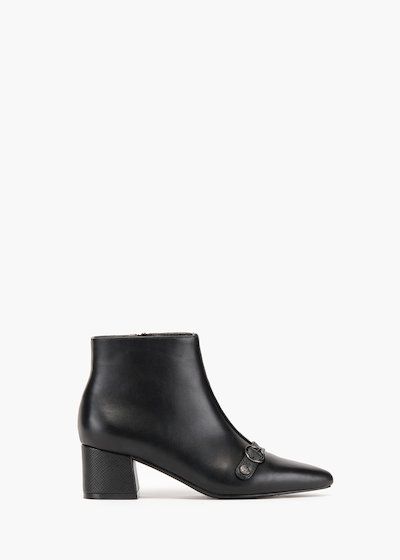 Boots Shear in faux leather with toe