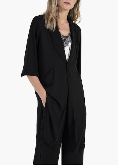 Clizia chemisier with single button and pockets