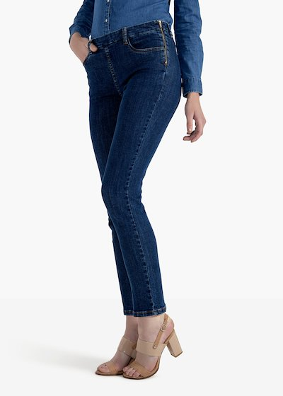 Scarlett trousers in skinny denim model