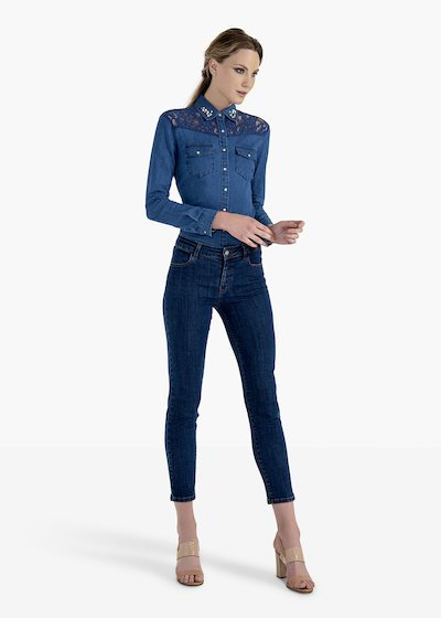 Kate denim trousers 5 pockets