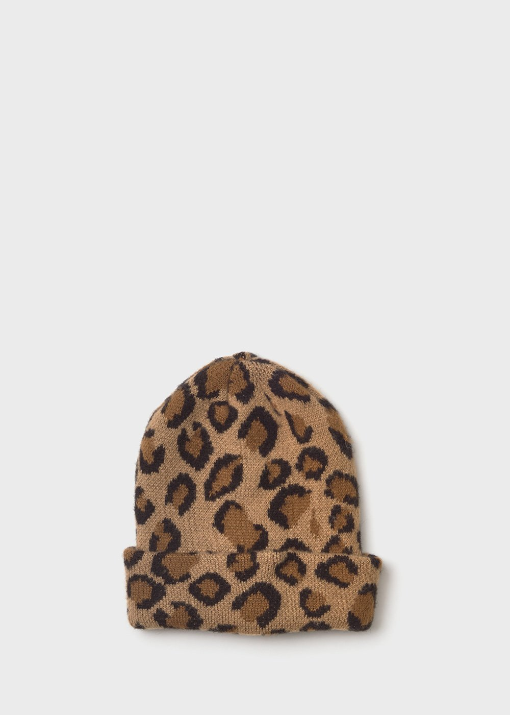 Caddy hat with spotted print - Desert / Suolo Animalier - Woman