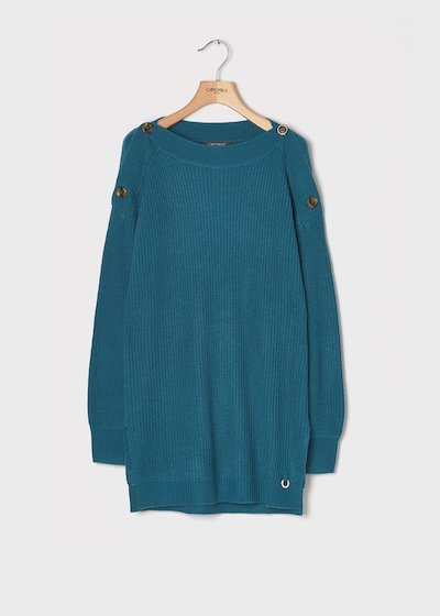 Ground-coloured sweater