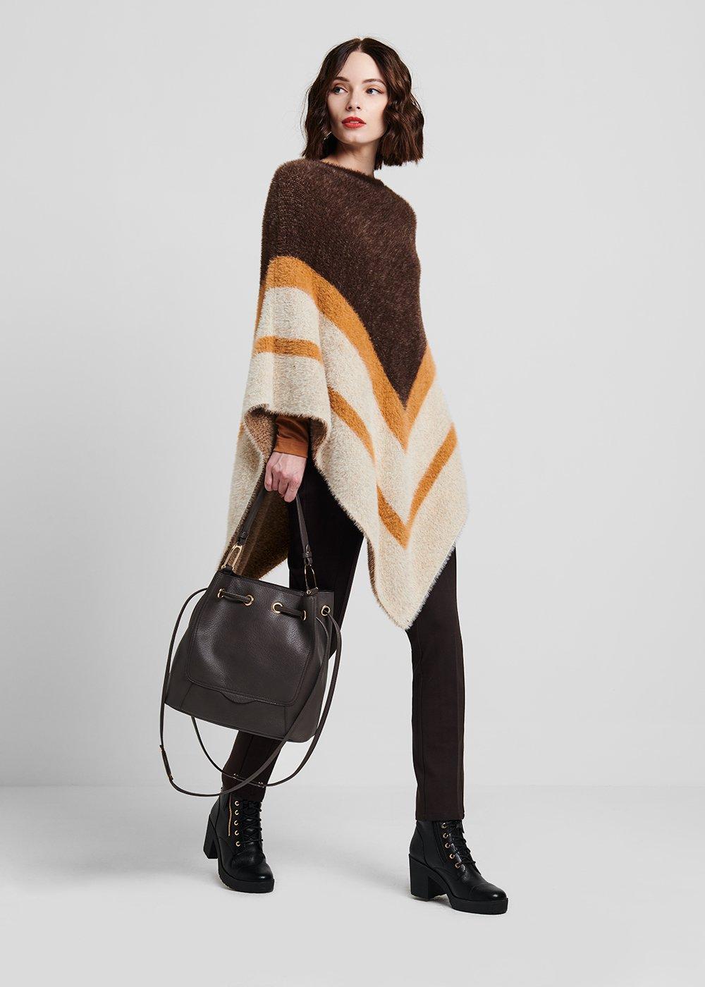 Baily bucket bag with deer print - Smocky - Woman