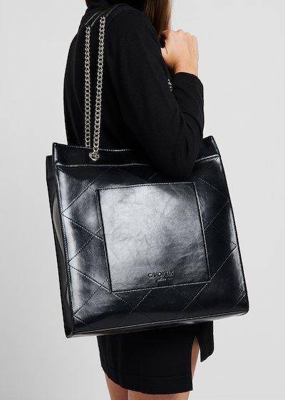 Baisy faux-leather bag