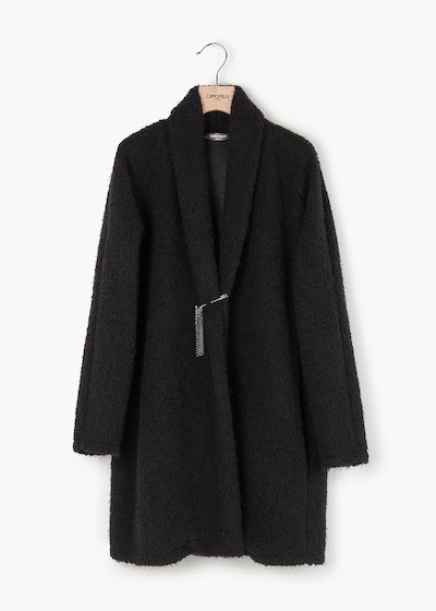 Cristian cardigan with shawl collar and pockets