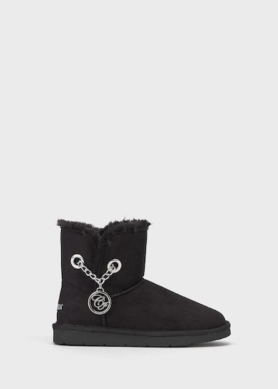 Bayle faux-suede and faux-fur snowboots