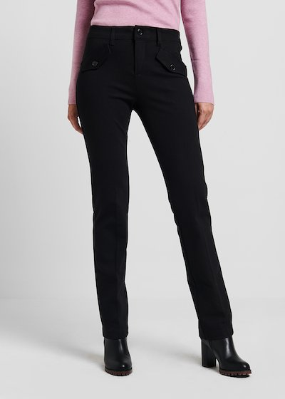 Carrie trekking trousers in milano stitch