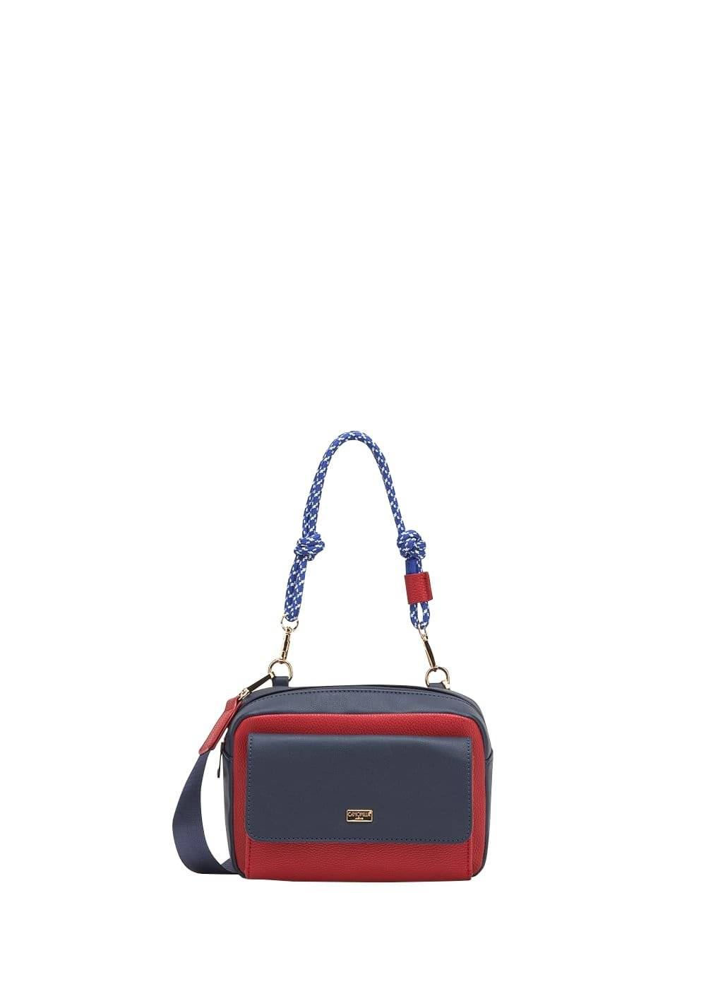 Bag Biwy con manico corda - Medium Blue / Passione - Donna