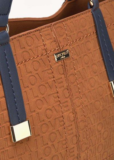 Shopping bag Berry logata