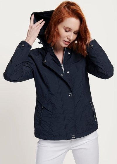 Gael cotton jacket with hood