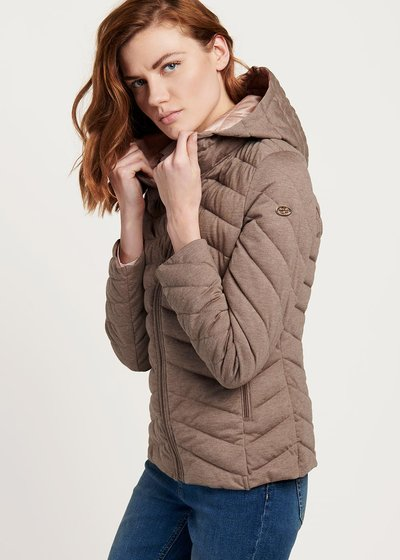 Ultralight Park down jacket with hood
