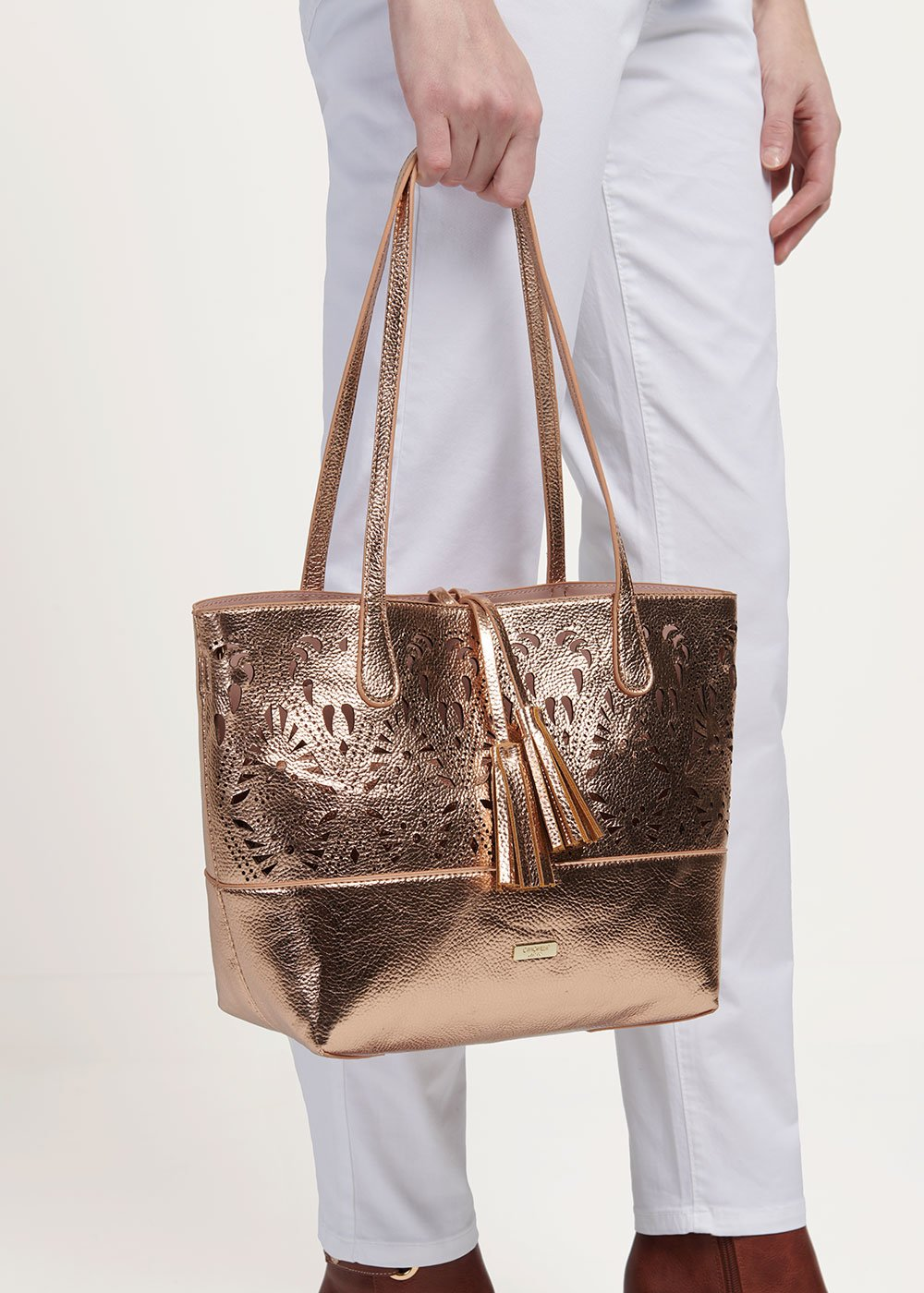 Goro gold rose bag - Gold Rose - Woman