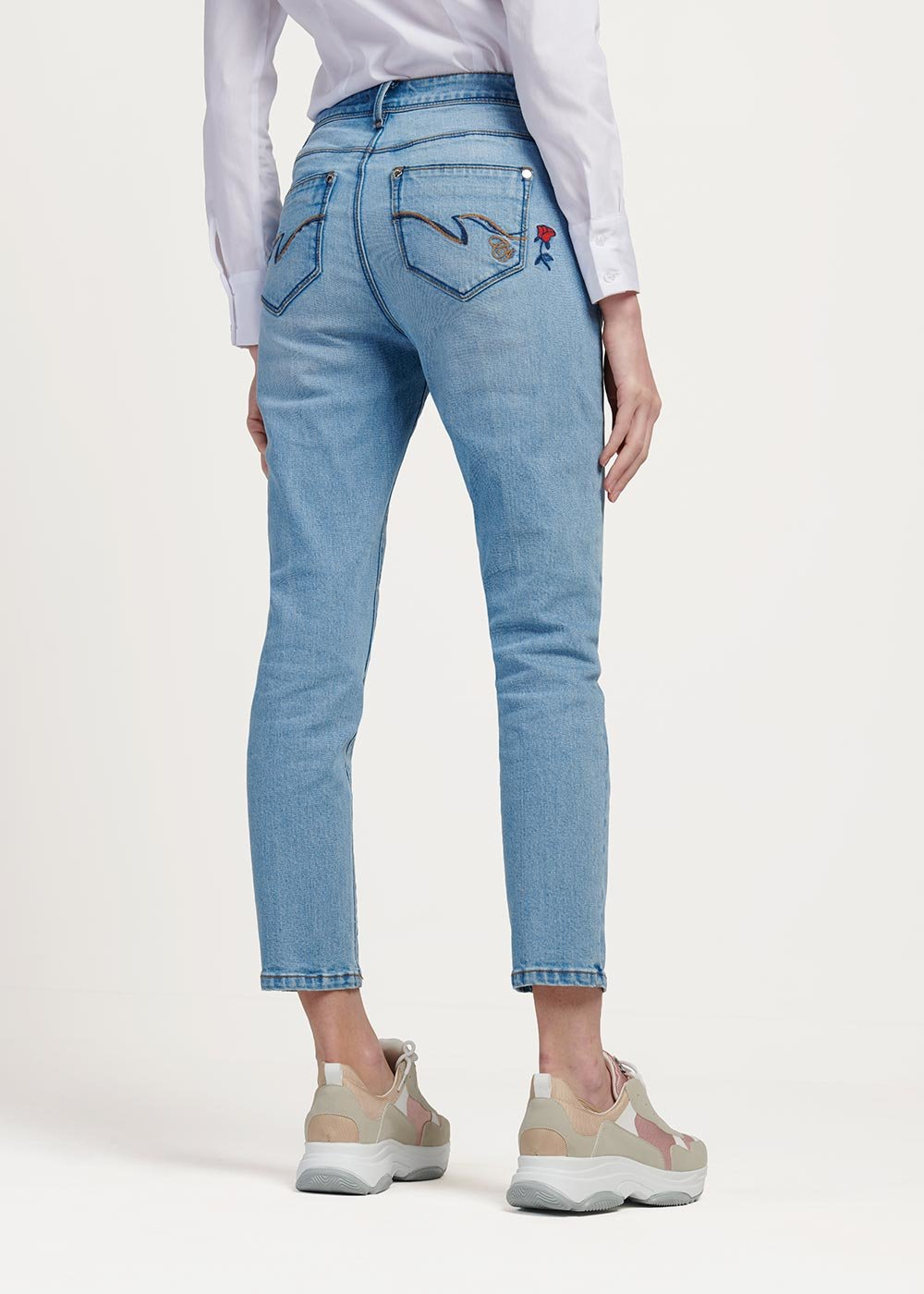 Dennis 5-pocket denim - Light Denim - Woman
