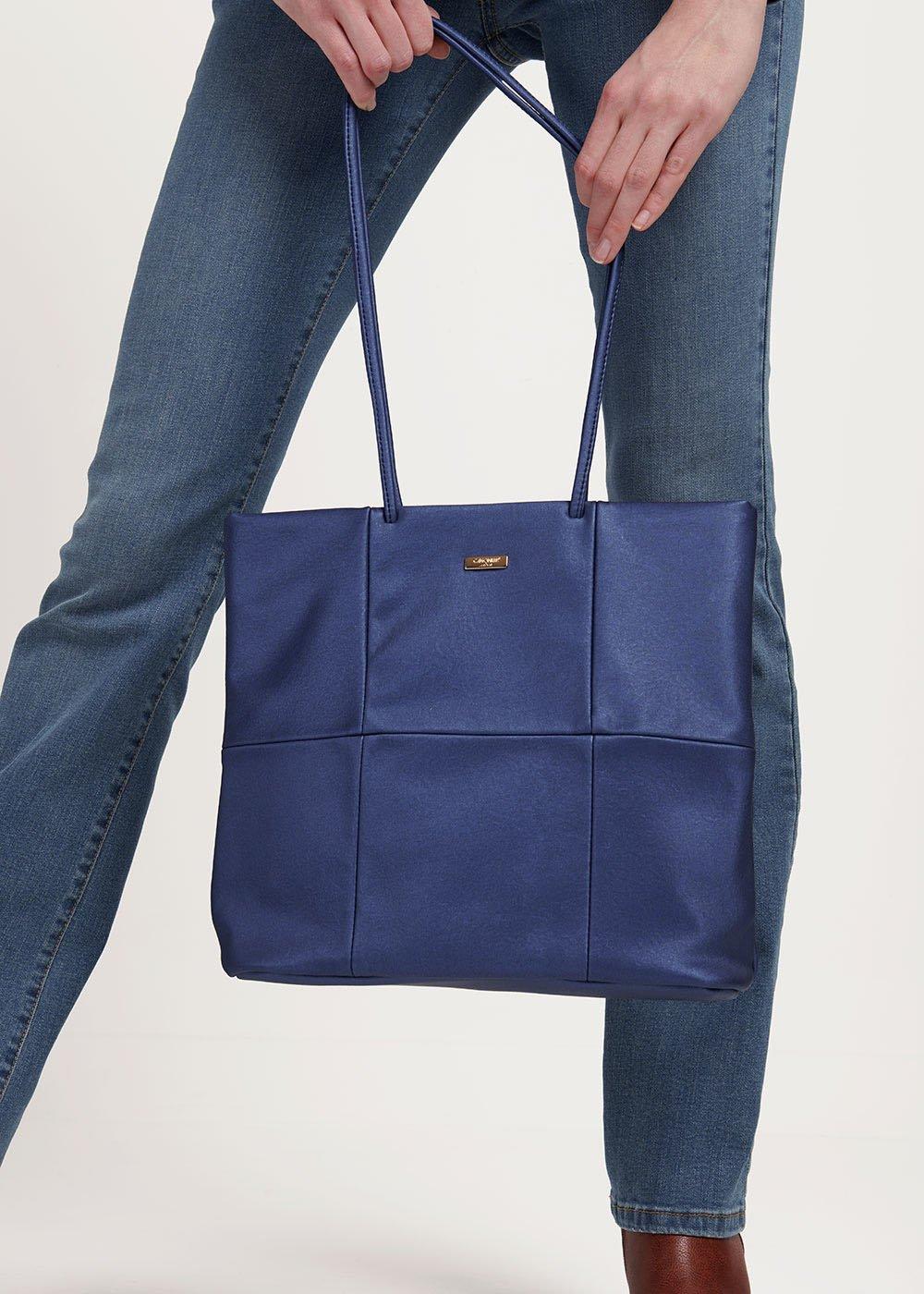 Badel shopping bag with long handle