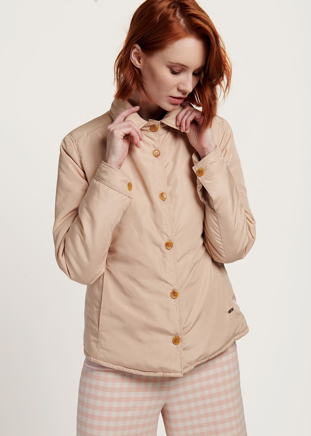 Pagor double-sided jacket - Pink - Woman