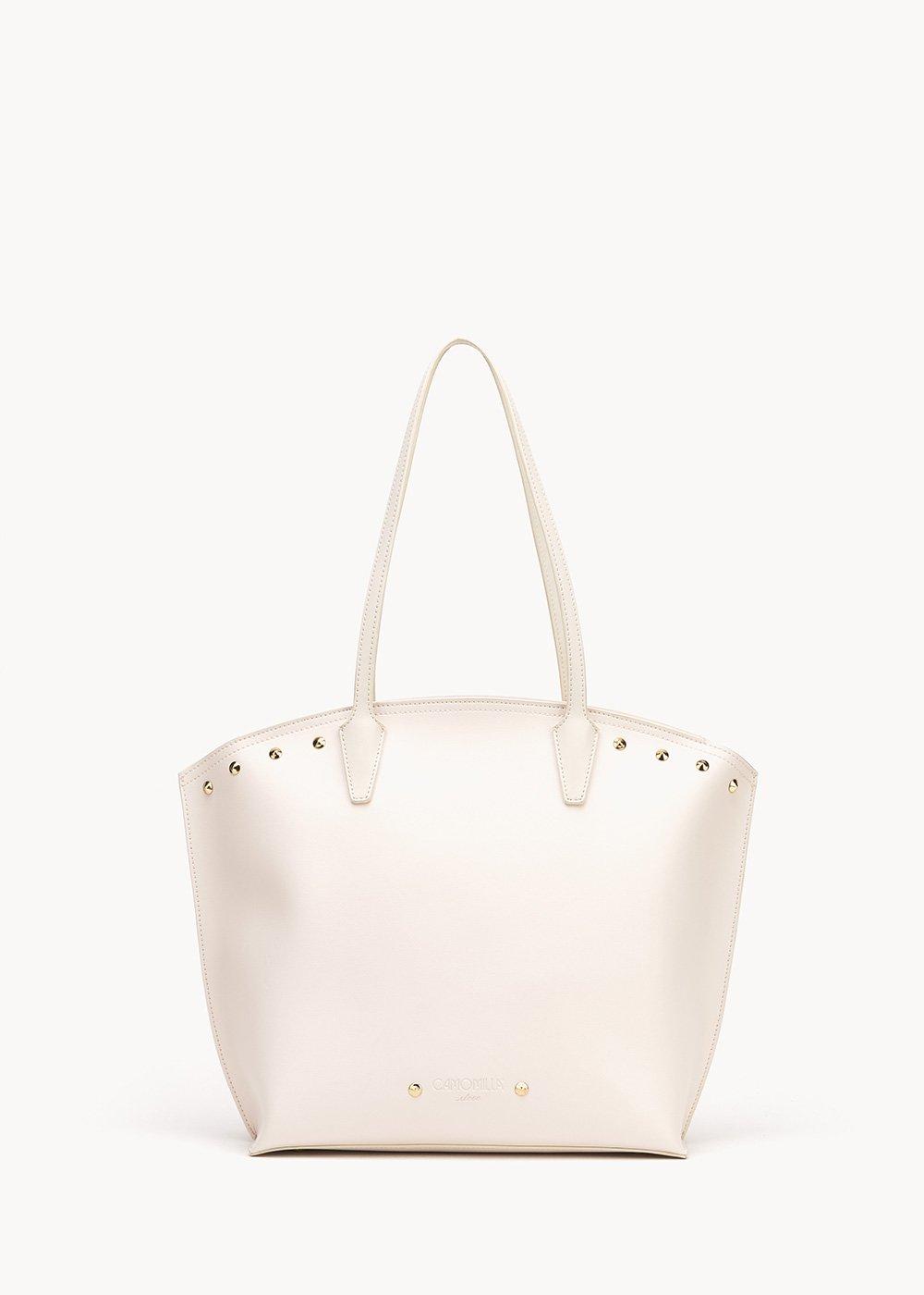 Brynn shopping bag - Light Beige - Woman