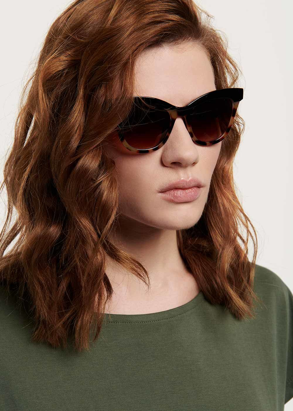 Cat model glasses - Cacao Animalier - Woman