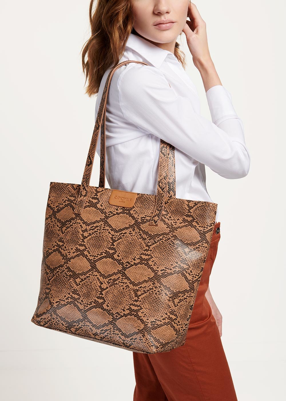 Badia shopping bag - Suolo Animalier - Woman