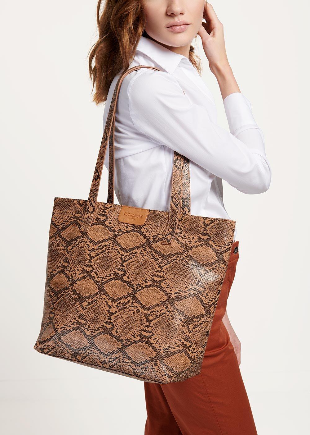 Badia shopping bag - Suolo Animalier - Woman