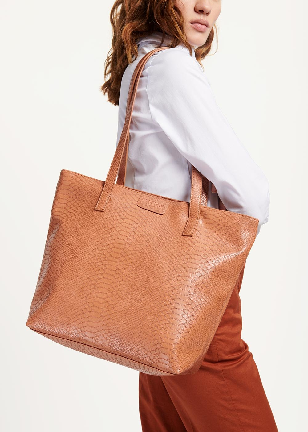 Badia shopping bag - Sughero - Woman