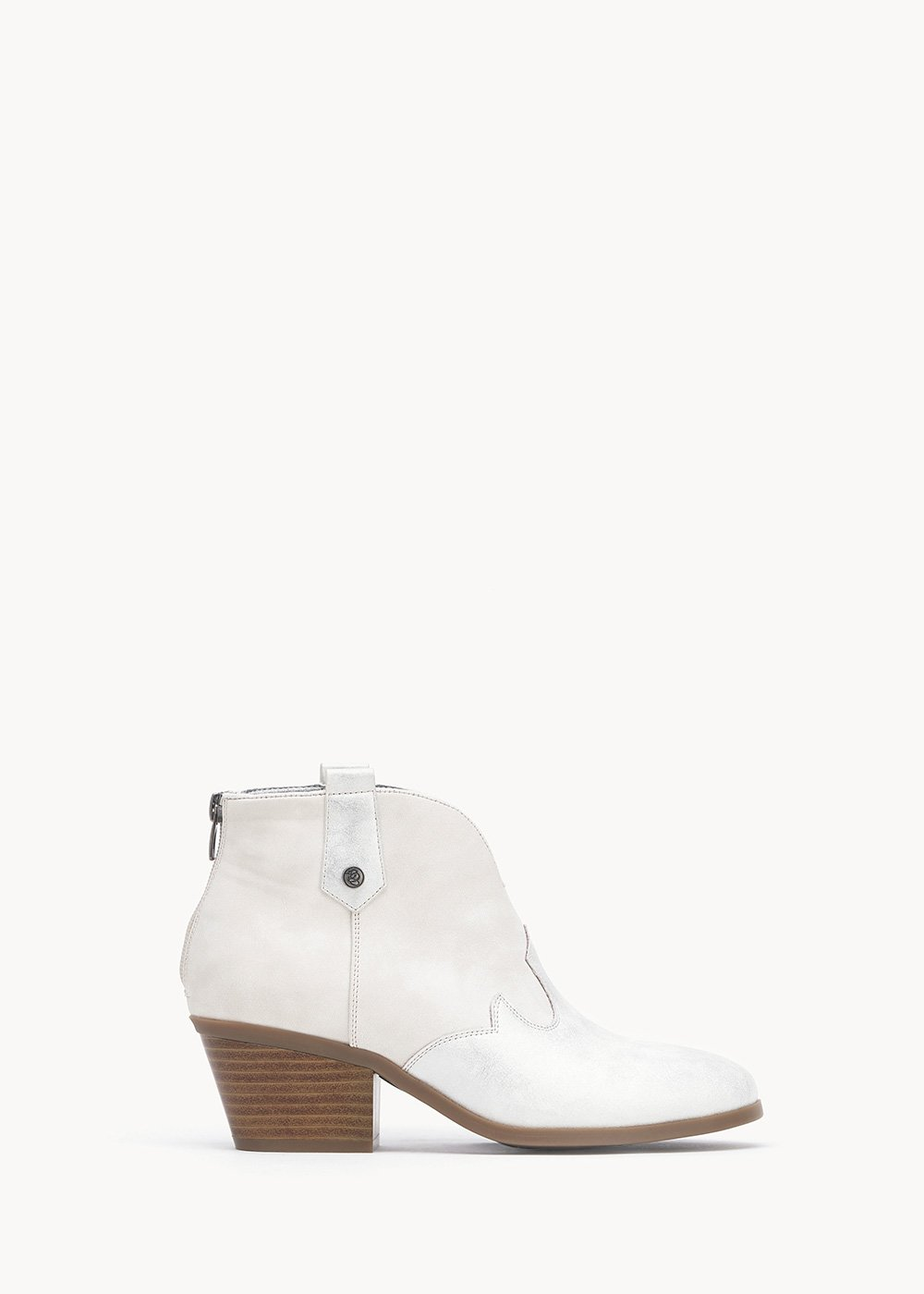 Sunny cowboy boots - Cocco / Silver	 - Woman