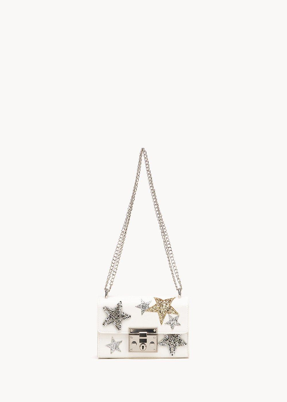 Bowes shoulder bag with star appliques