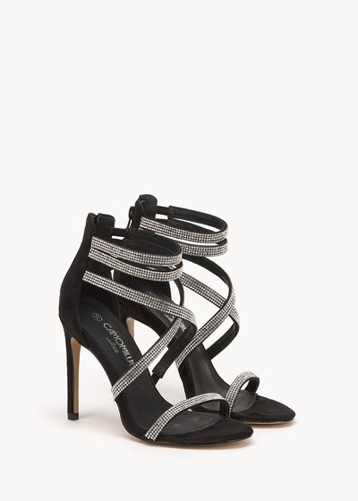 Shyla sandals with rhinestone details