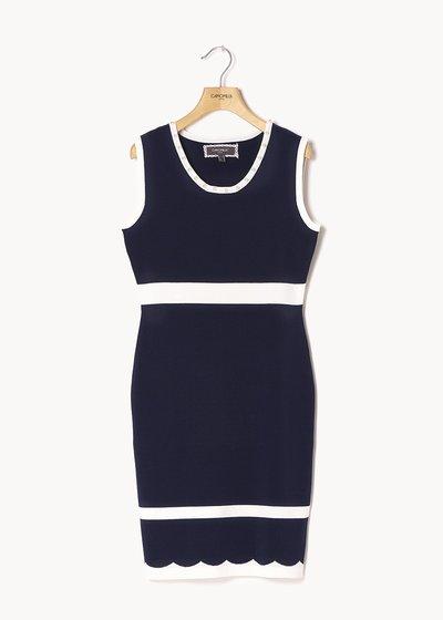 Alvin two-tone dress