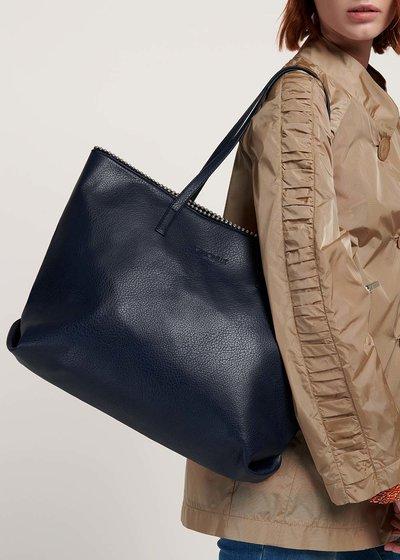 Shopping bag Brook con mini sfere metalliche