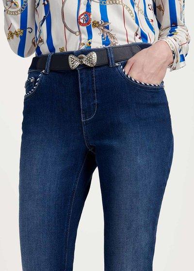 Cintura elastica Cindy con fiocco
