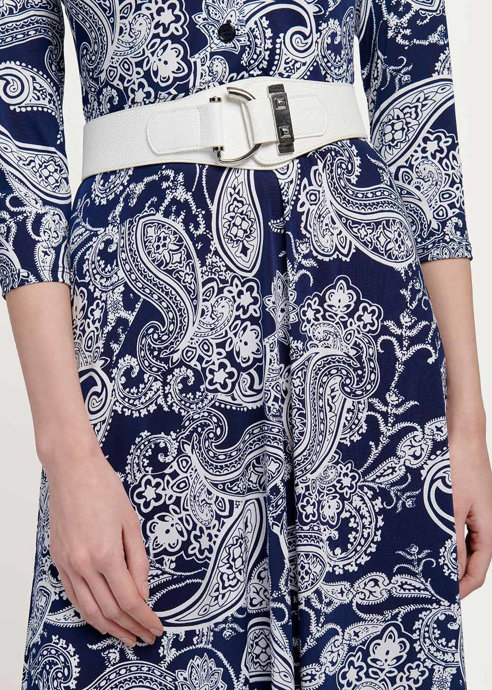 Cael belt with buckle - White - Woman