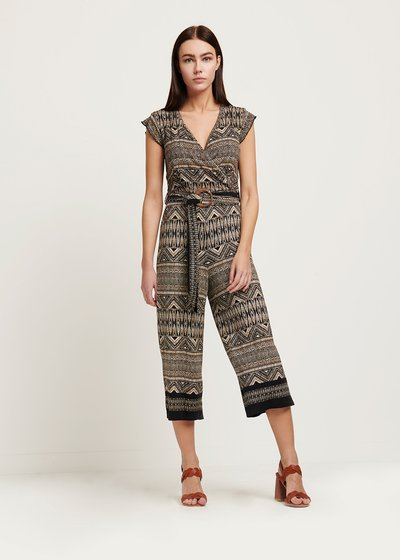 Tonya patterned jumpsuit