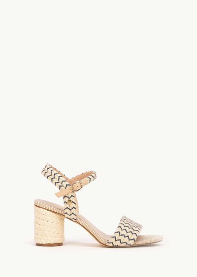 Sophie sandal with blue details