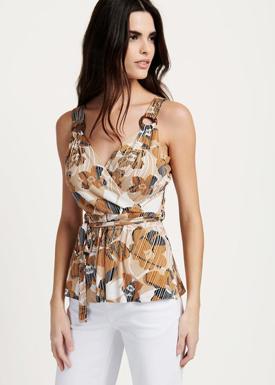 Tamik printed top