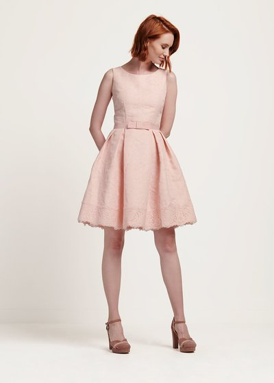 Alex lace dress with waist band