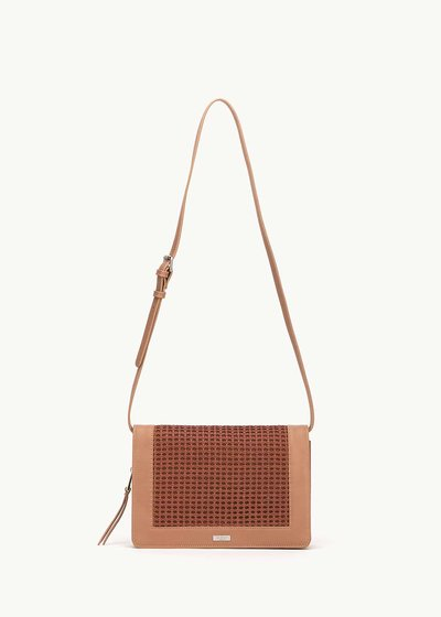 Bardhy shoulder bag with embellished front side