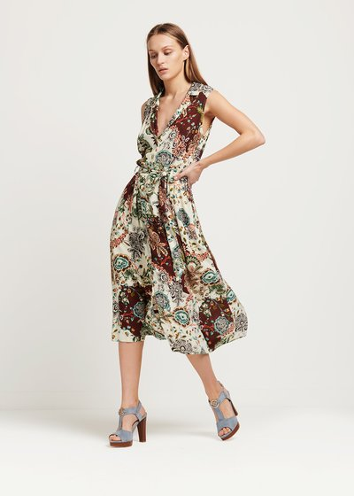 Allyn patterned dress