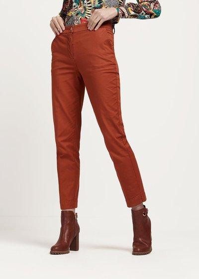 Pantalone modello Alice colore cannella