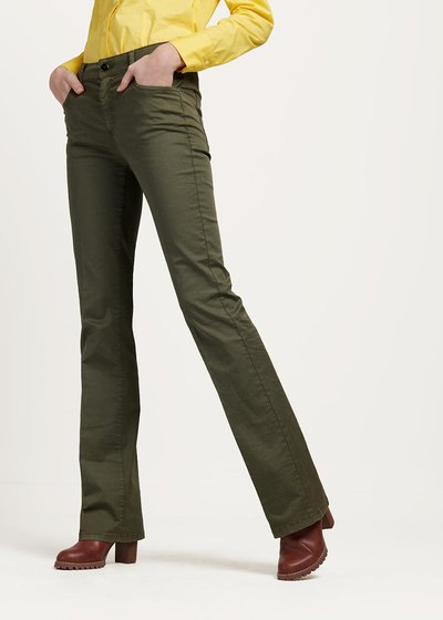 Thyme green Cindy trousers