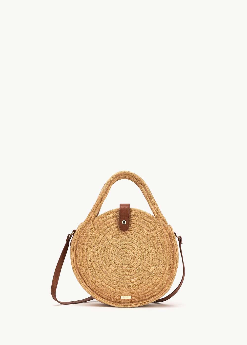Betsey round cotton bag - Safari - Woman
